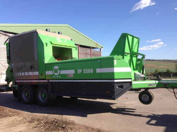 Shredder Willibald EP 5500 Shark 2